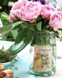 Vintage French Canning Jar Citronnade