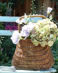 Vintage French Panier Market Basket