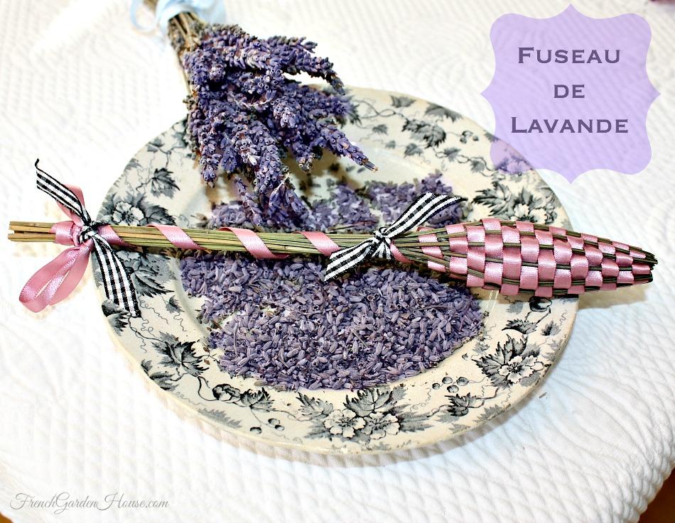 hand woven lavender fuseau de lavande. Black Bedroom Furniture Sets. Home Design Ideas