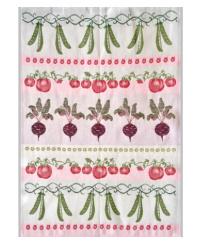 Gourmet Garden Tea Towel