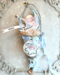 Angel Glass Glitter Favor Gift Cone Limited Edition