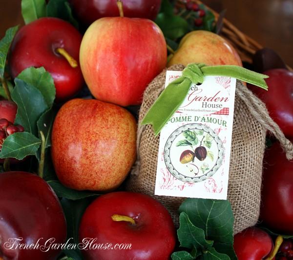 Provence Farmhouse Apple Soap Pomme d'Amour