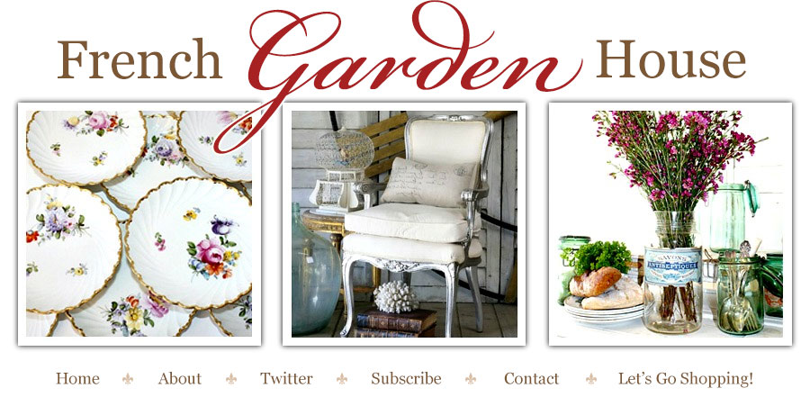 French Garden House Blog