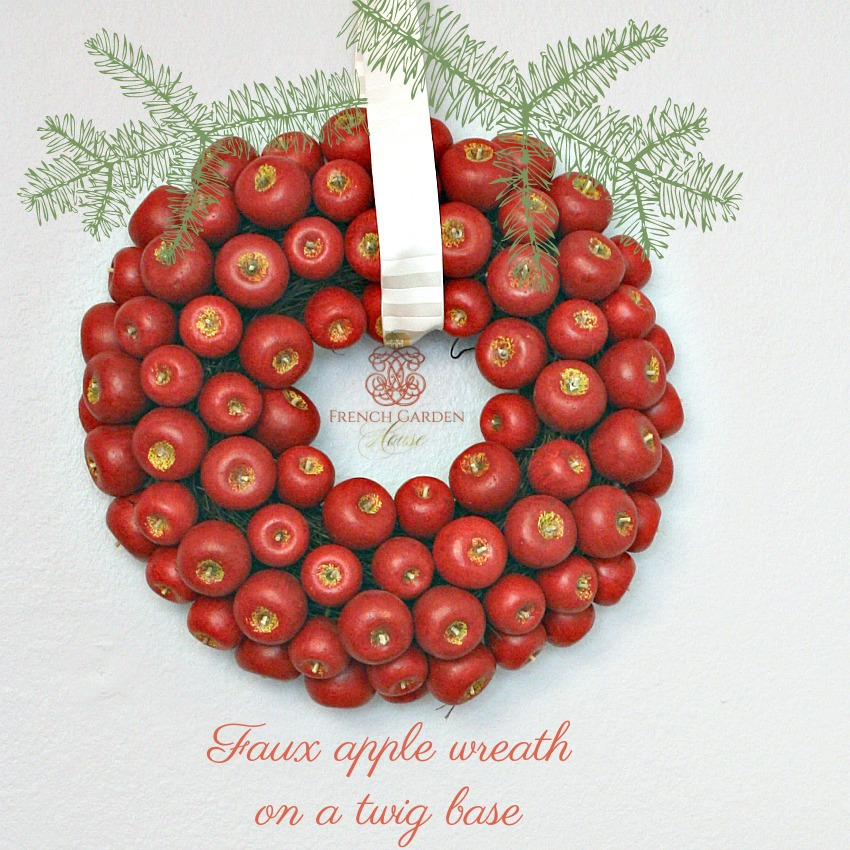 Country Holiday Crab Apple Wreath