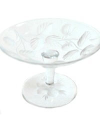 Glass Jam Stand Jelly Compote