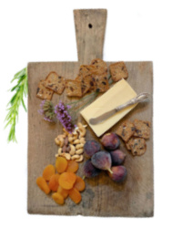 Antique Heavy French Wood Chop Board
