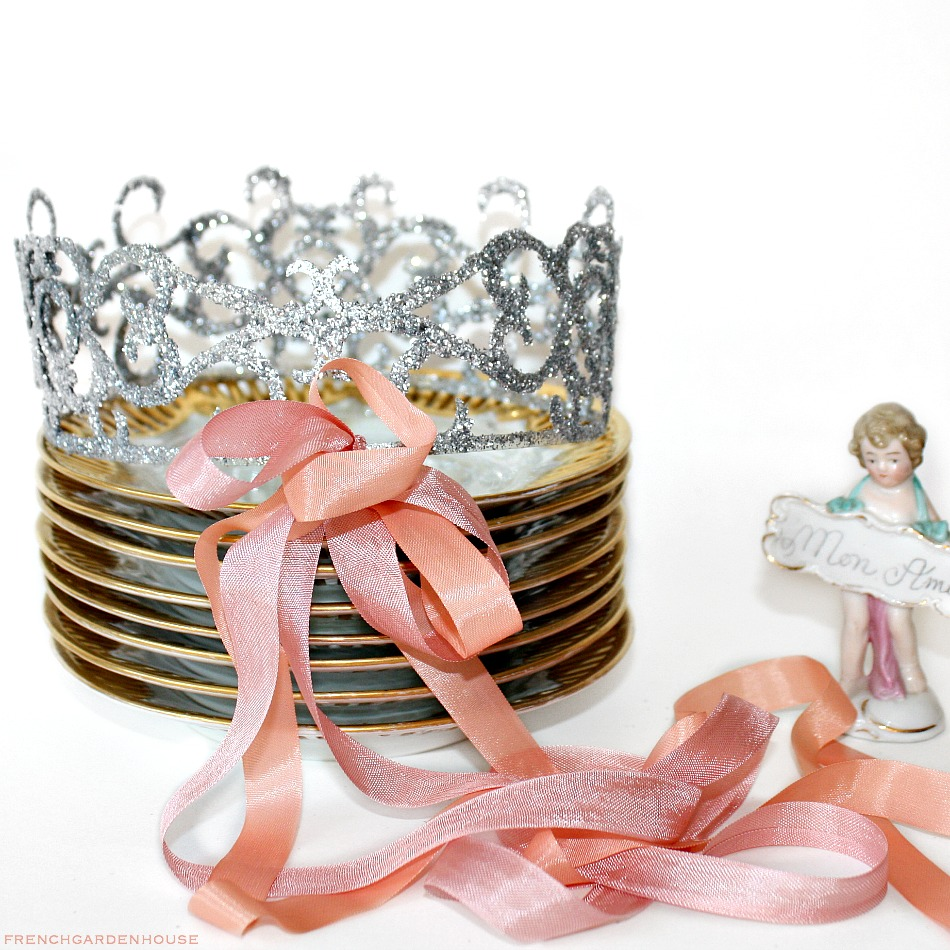 Glitter Birthday Fairy Celebration Crown Tiara Lrg.