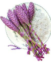 Hand Woven Provence Lavender Fuseau de Lavande