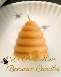 Le Petit Hive Beeswax Candles Set of 4