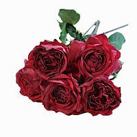 Deep Merlot Red Rose Bouquet