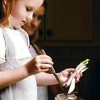 Silver Linen Heritage Children's Apron