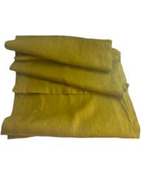European Linen Runner Vert Chartreuse