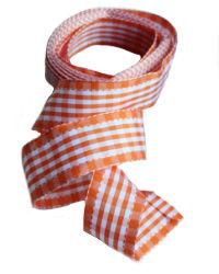 L'Orange Brights Checked Ribbon