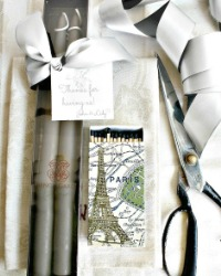 Hand Dipped Taper Candles Gift Set Parisian Gres