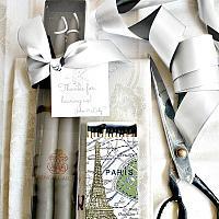 Hand Dipped Taper Candles Gift Set Parisian Gres