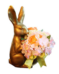 Madame Lapin Bunny Faux Floral Peonies