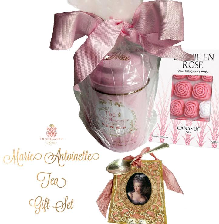 French Marie Antoinette Tea Gift Set