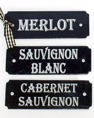 Laguiole French Sommelier Enamel Wine Signs