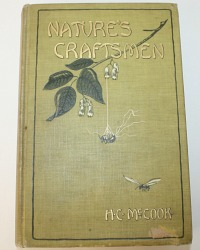 Antique Nature's Craftsmen Book Ants, Bees, Wasps, Cicadas, and other Insects