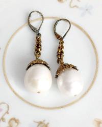 Parisian Pearl Drop Earrings