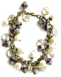 Georgia Hecht Amethyst Lavender Bracelet