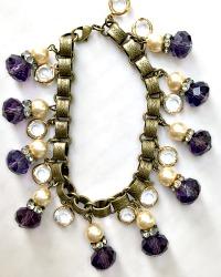Georgia Hecht Amethyst Purple Christy Bracelet