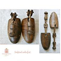 Antique Shoe Stretchers with Wood Screw