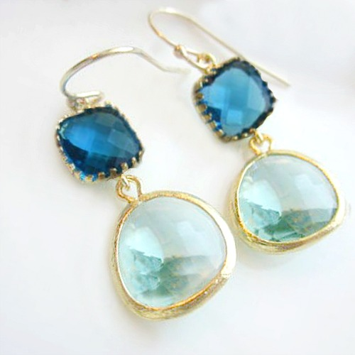 Shades of the Sea Earrings