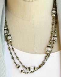 Georgia Hecht Signature Crystal Ice Wrap Necklace