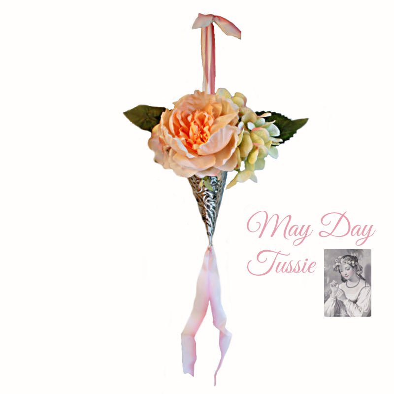 Faux Floral May Day Tussie