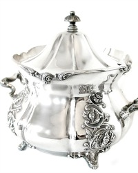 19th Century Silver Quadruple Plate Art Nouveau Covered Tureen