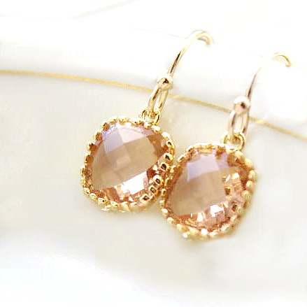 Pink Champagne Dreams Earrings