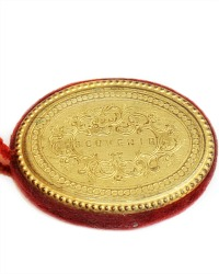 Antique French Gilt Souvenir Pin Cushion