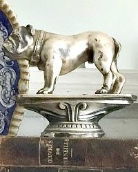 Bulldog Presse Papier Figural Statue