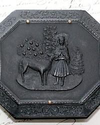 Antique Littlefield, Parsons & Co. Union Daguerreotype Case Girl