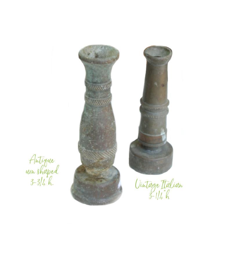 Vintage Collectable Brass Garden Hose Nozzle