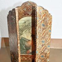 Vintage Italian Gilt Florentine Madonna Altar