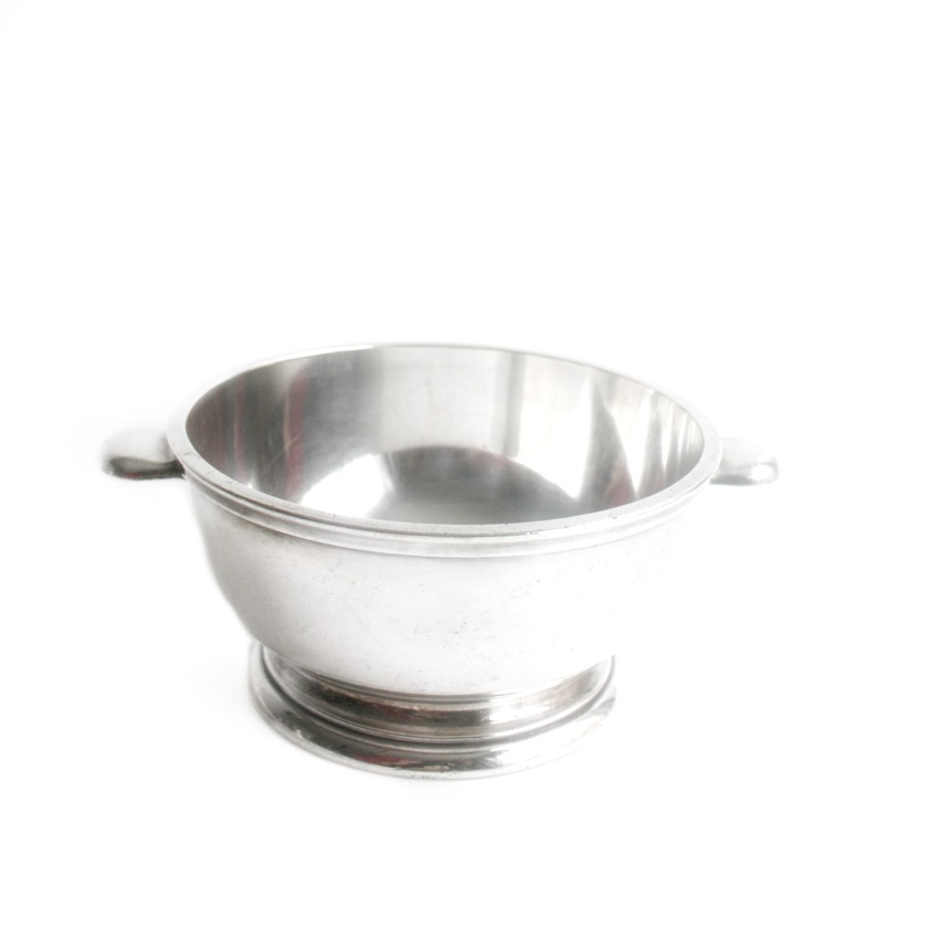 Art Deco Hotel Savoy Silver Serving Bowl