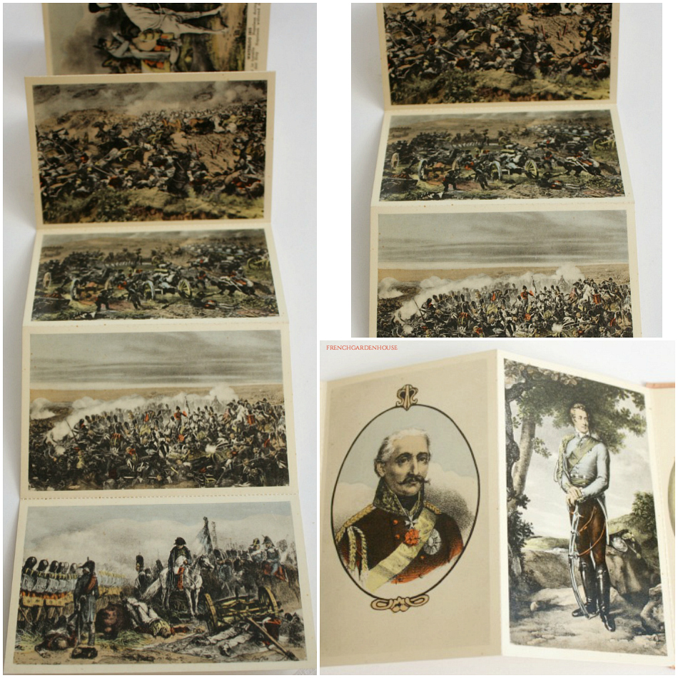 Waterloo Napoleon 10 Cartes Postcard Booklet
