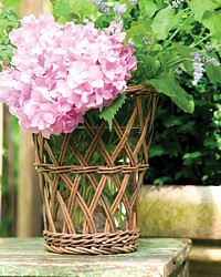 Provence Cottage Willow Candle Vase