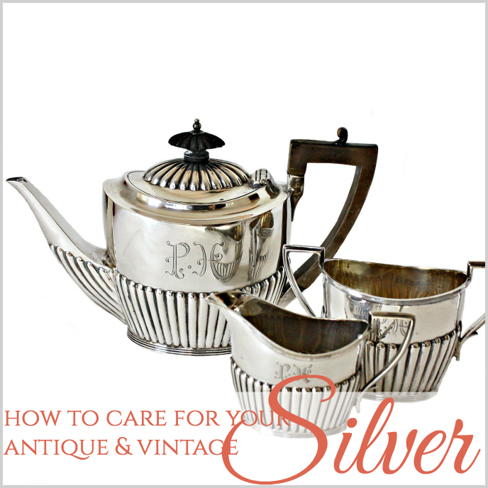 SILVER PLATE TEAPOTS QUICKLY AND SAFELY CLEAN YOUR SILVER