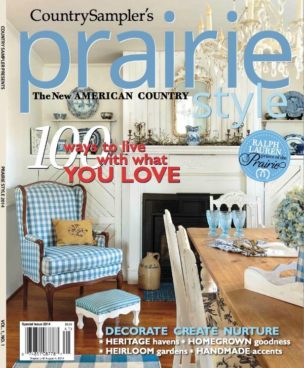 The New Prairie Style Magazine French Garden House