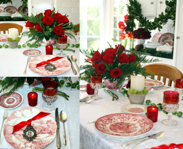 holidaytablescapes transferware