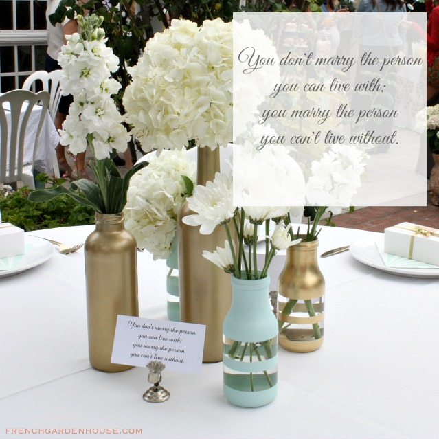 weddingshowertable
