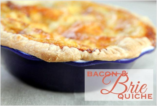 Bacon&BrieQuiche