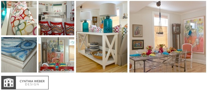 Eclectic Cottage Cynthia Weber Design