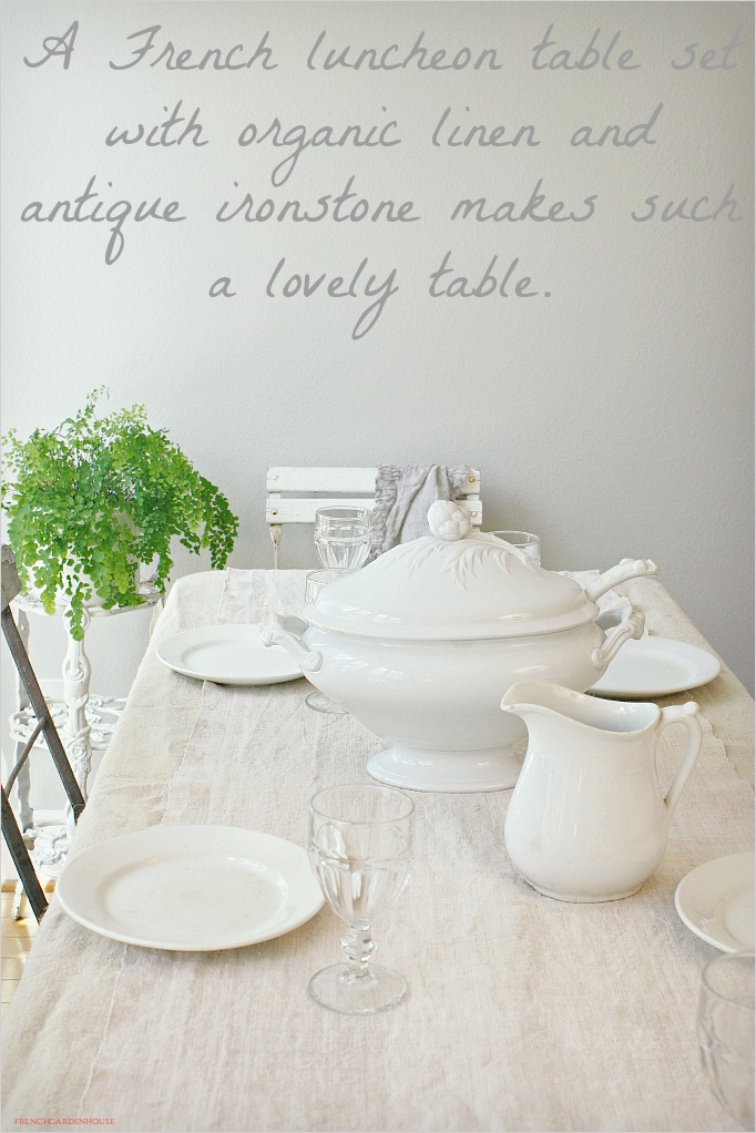 largetureenAntiqueFrenchIronstone