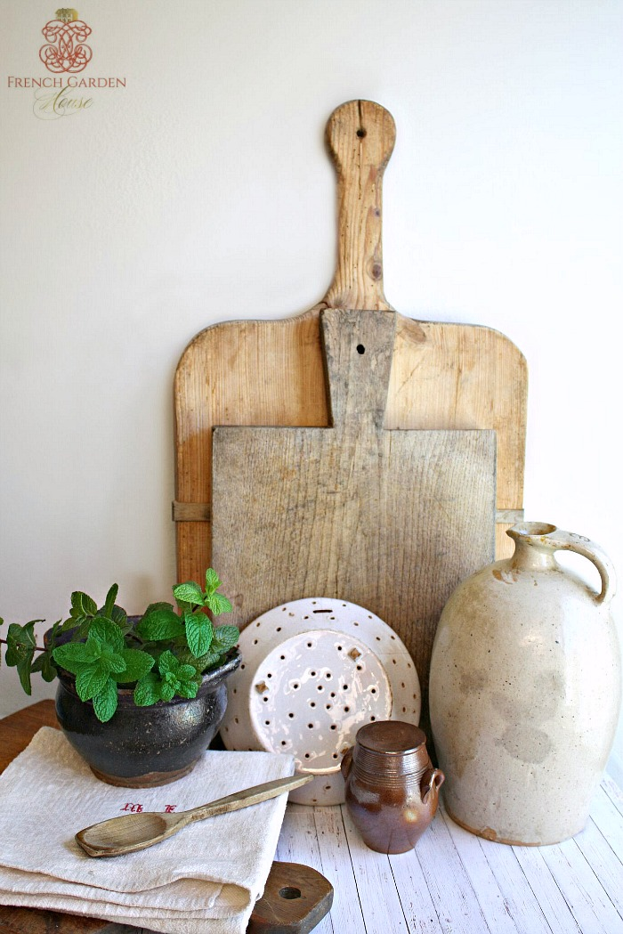 How To Care For Antique Cutting Boards French Garden House