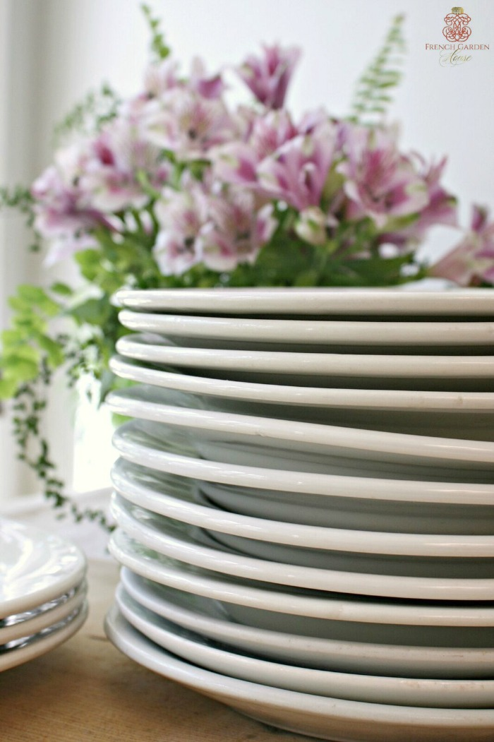 French-Ironstone-Plates
